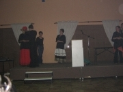 African Interpreters on stage